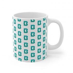 B Pattern Mug